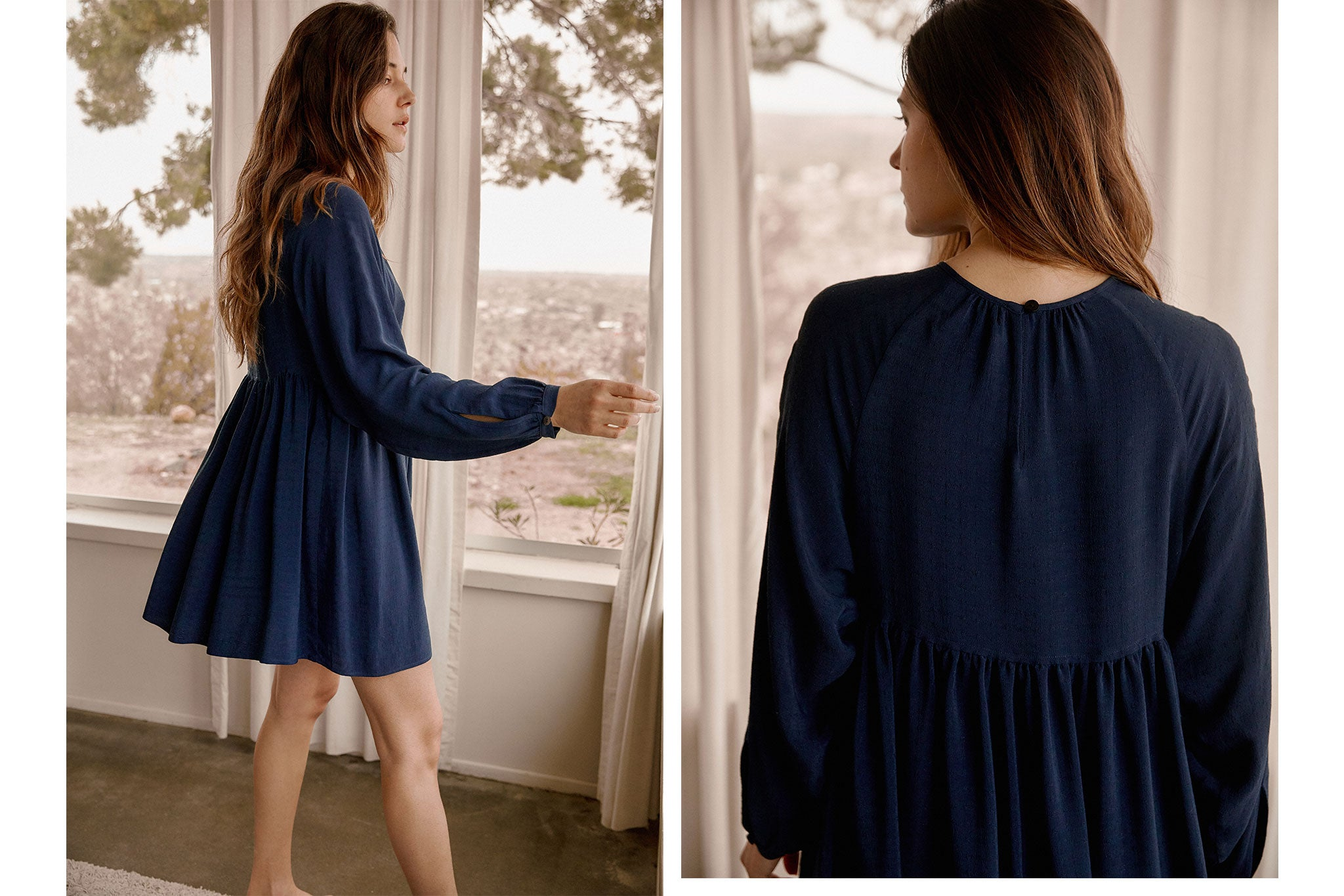 The Hudson Dress | Midnight