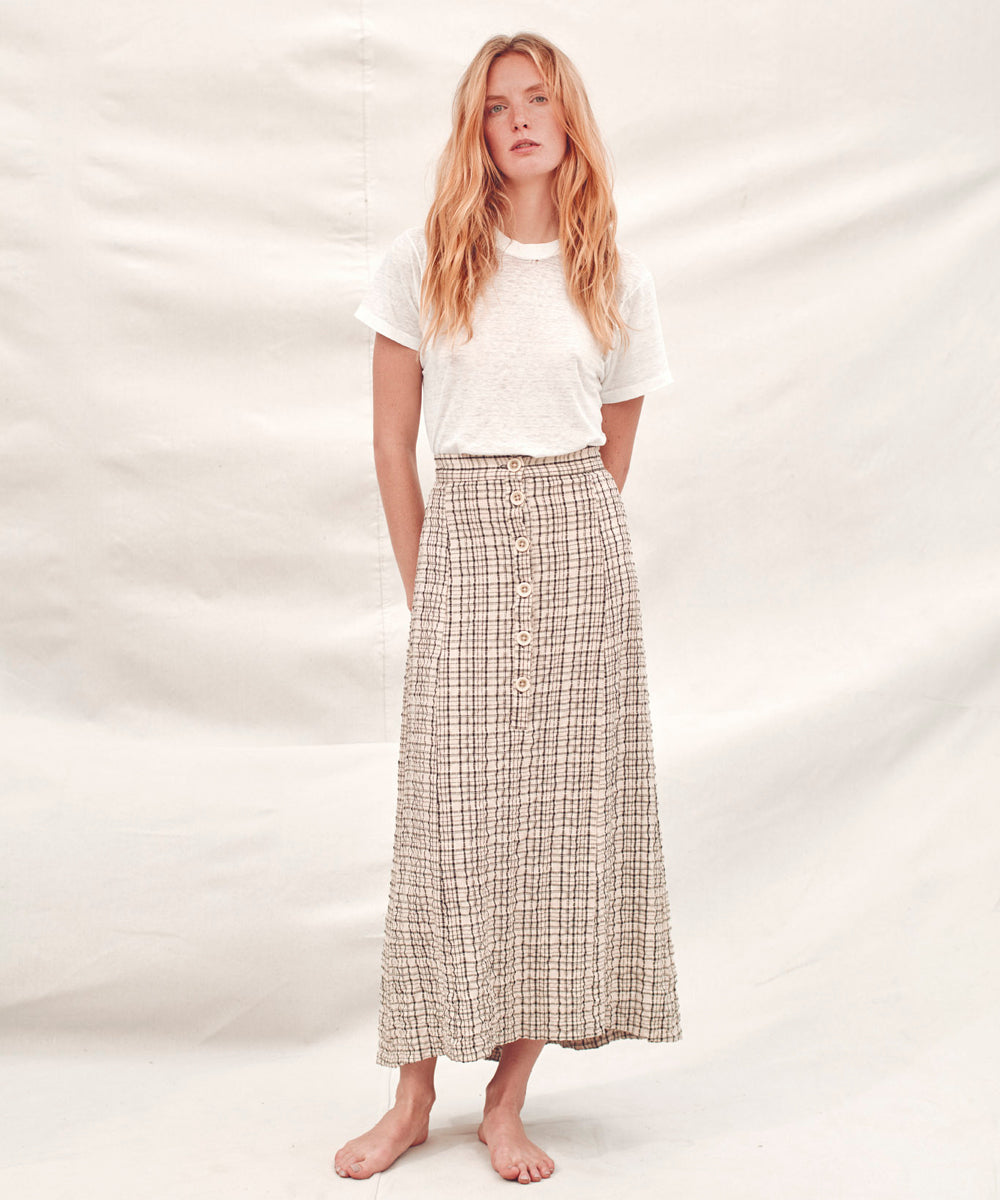 The Ida Skirt | Night Plaid