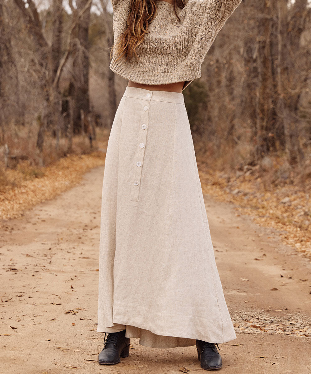 The Ida Skirt | Sandstone