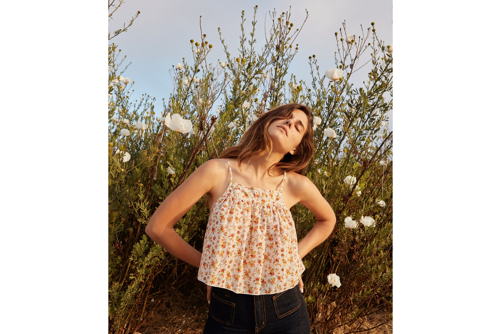 The Iris Top | Fall Calico