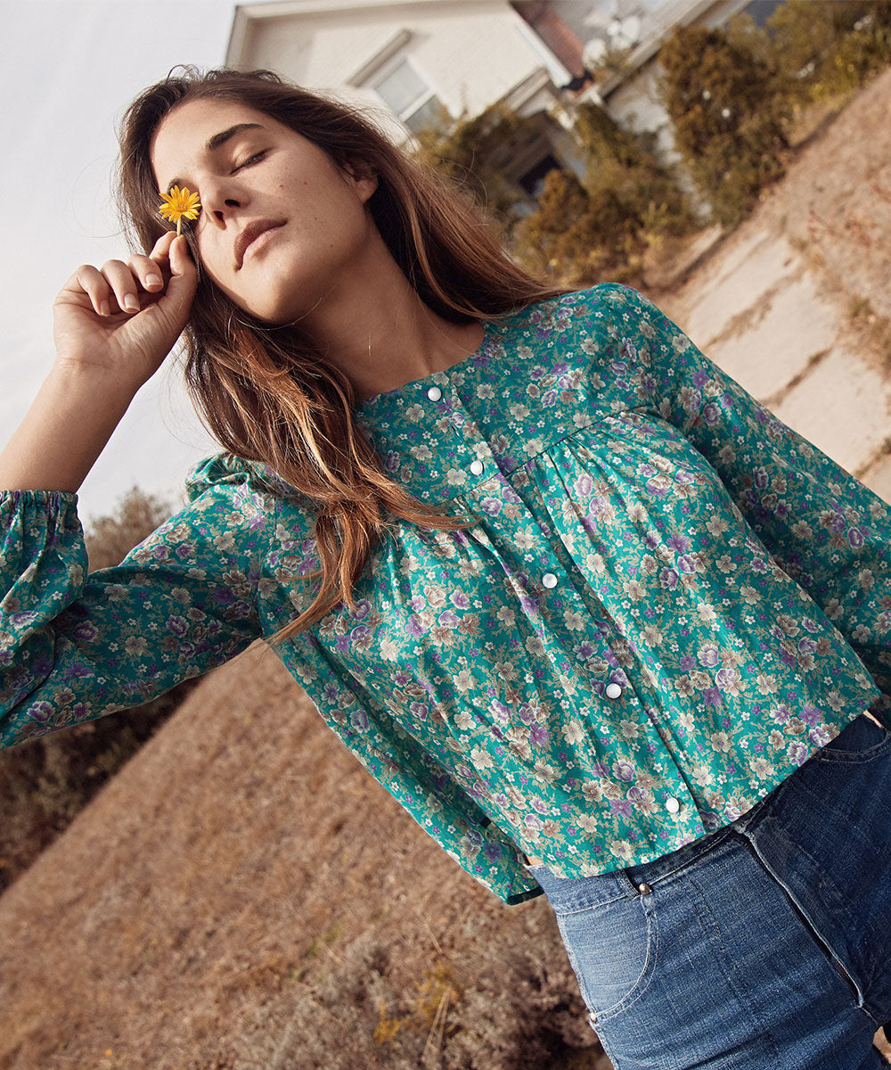 The Jaime Top | Pansy