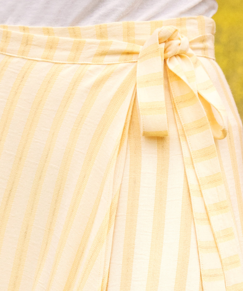 The James Skirt | Buttercup Stripe
