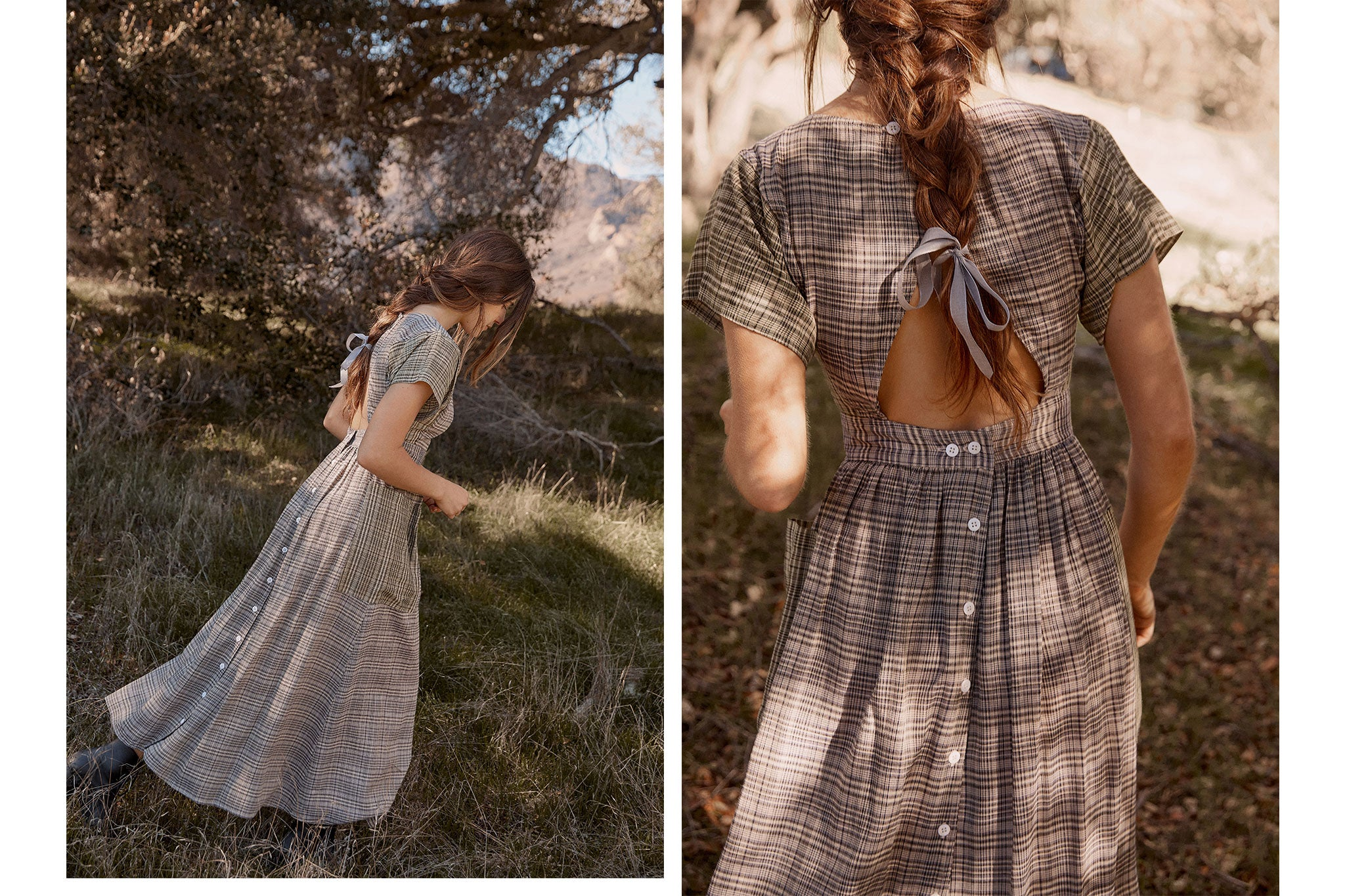 The Jane Dress | Glen Plaid