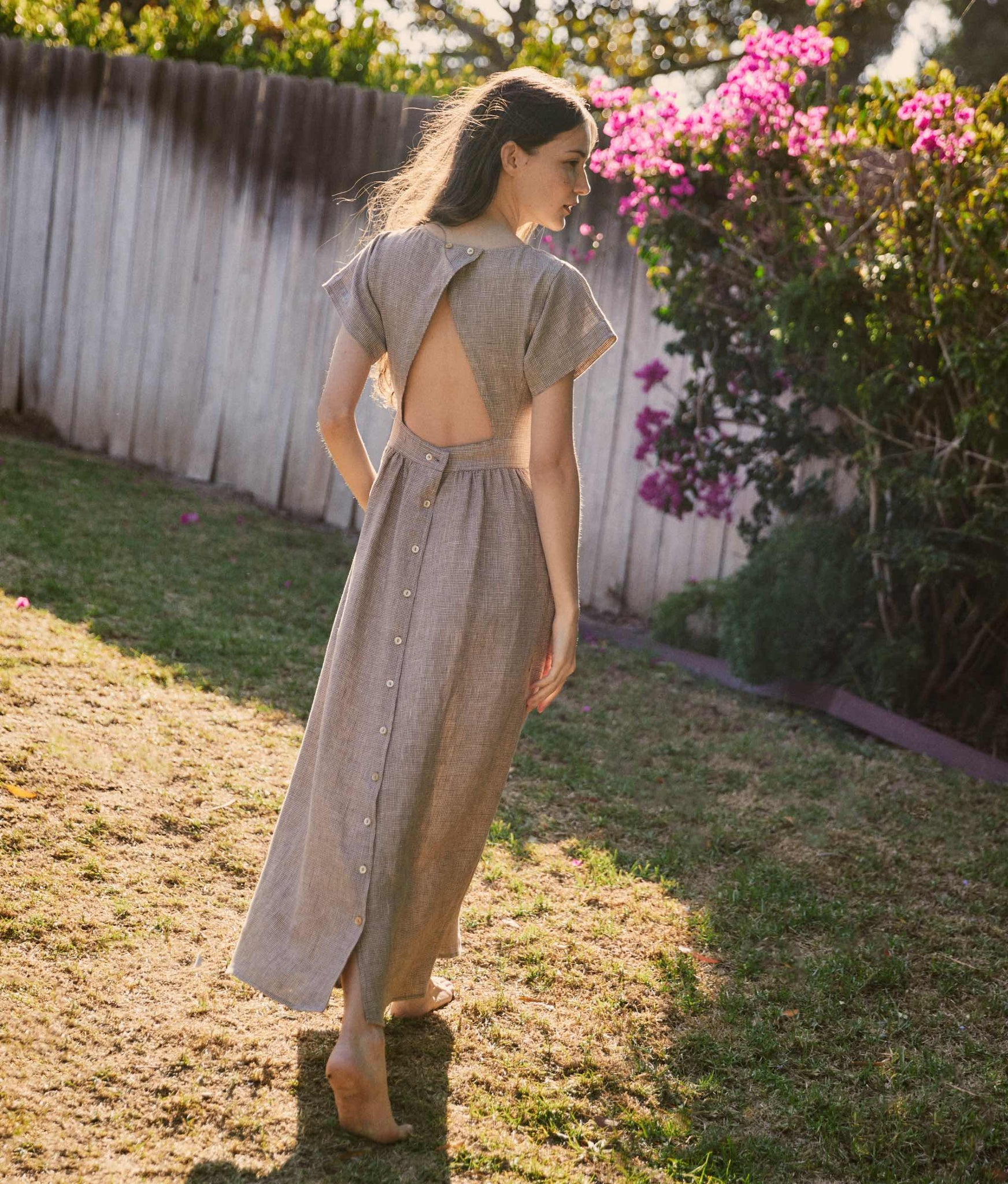 The Jane Dress | Woven Sienna