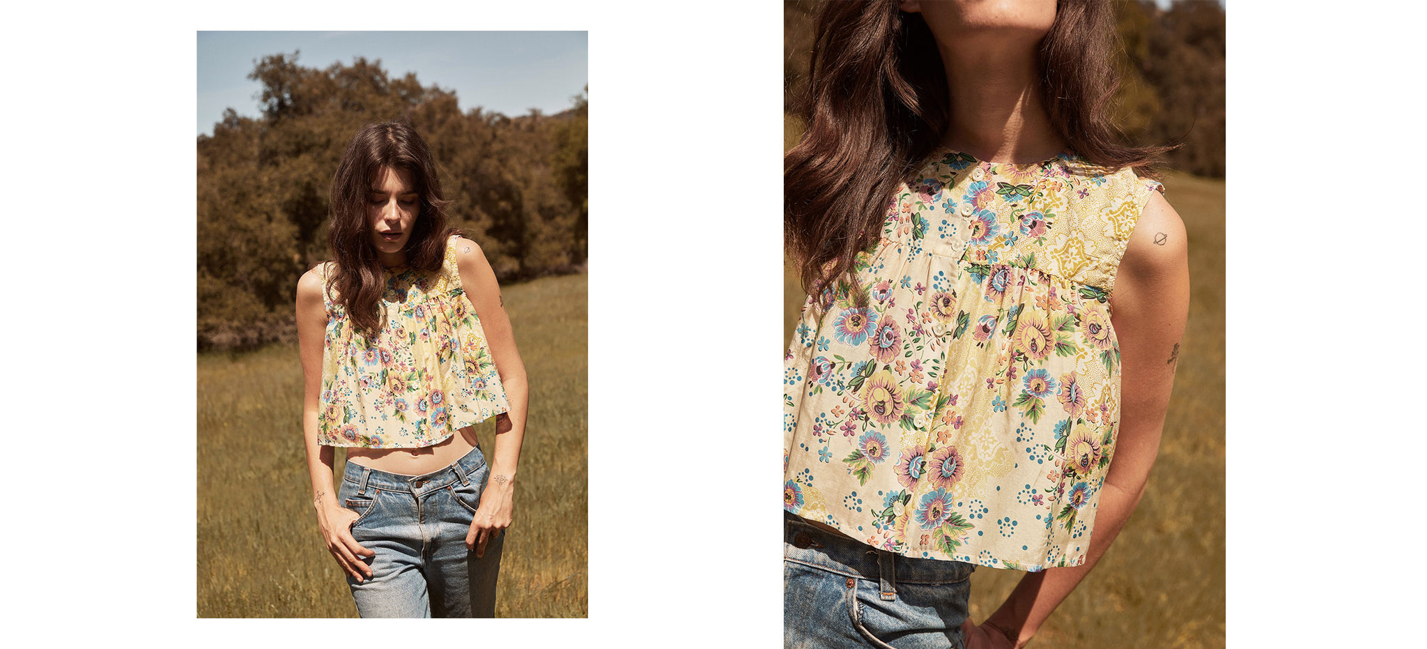 The Joan Top | Citrine