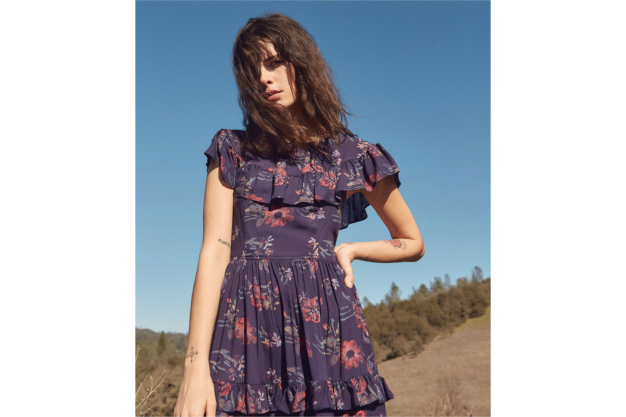 The Josie Dress | Elderberry
