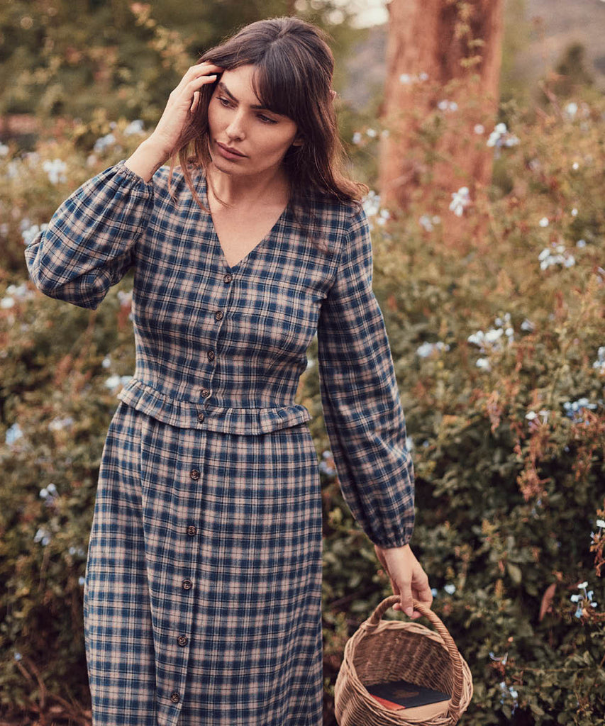 The Juniper Dress |  Winter Plaid
