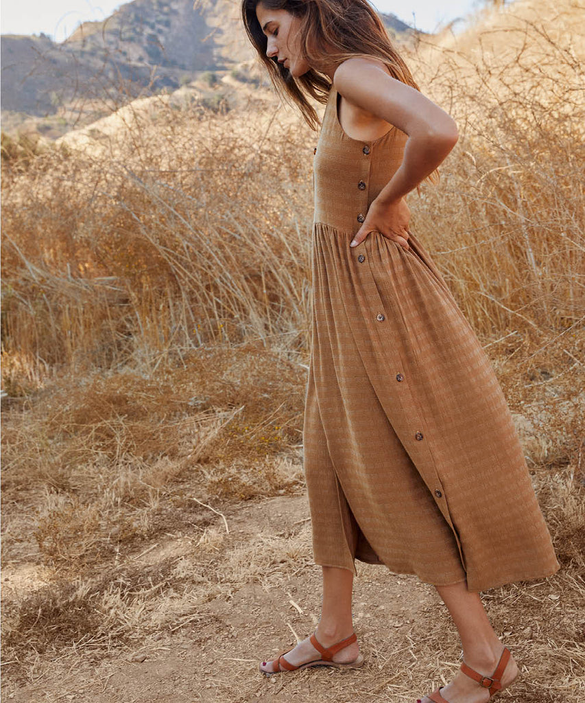 The Katie Dress | Woven Gold image 5