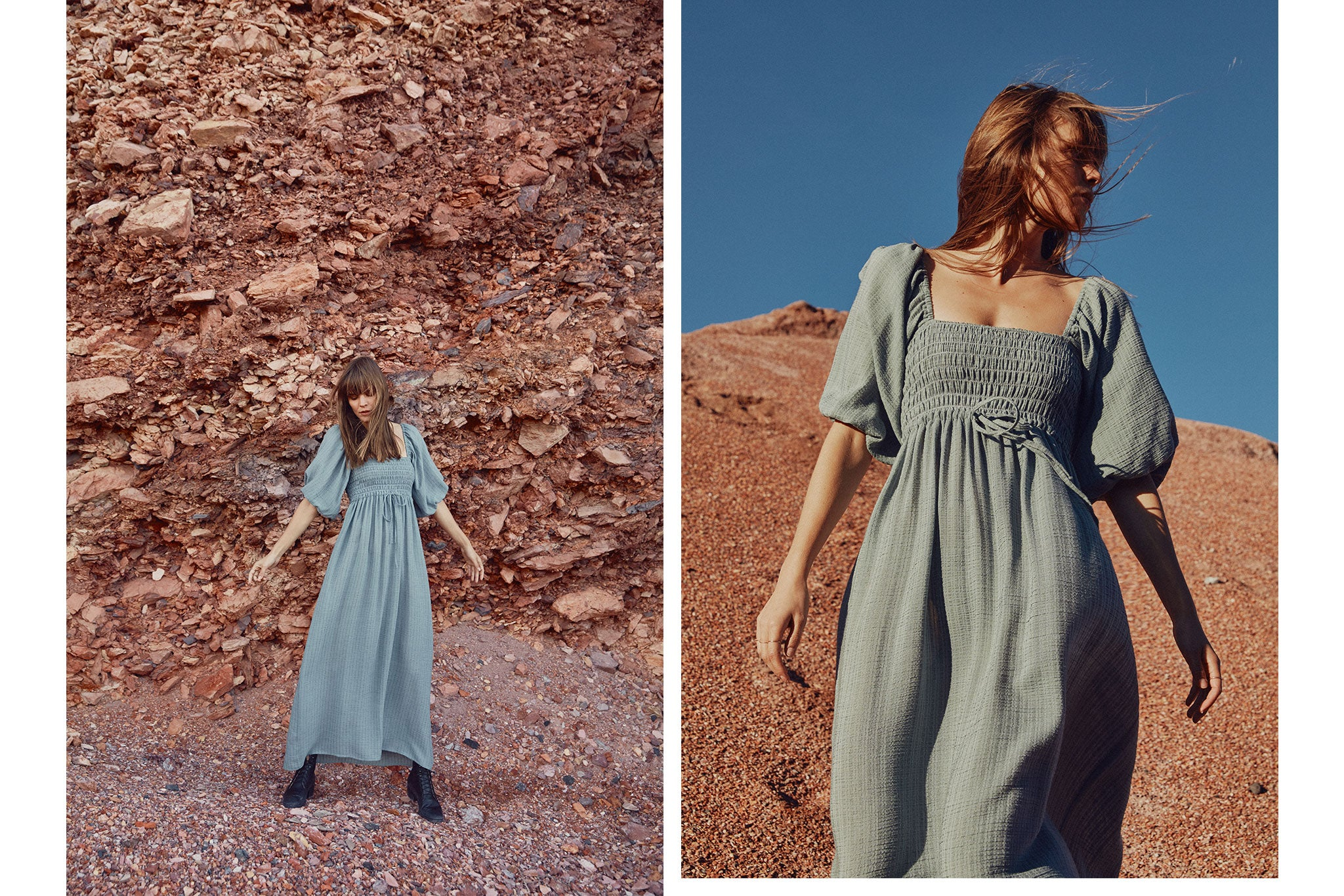 The Katrina Dress | Sea Mist