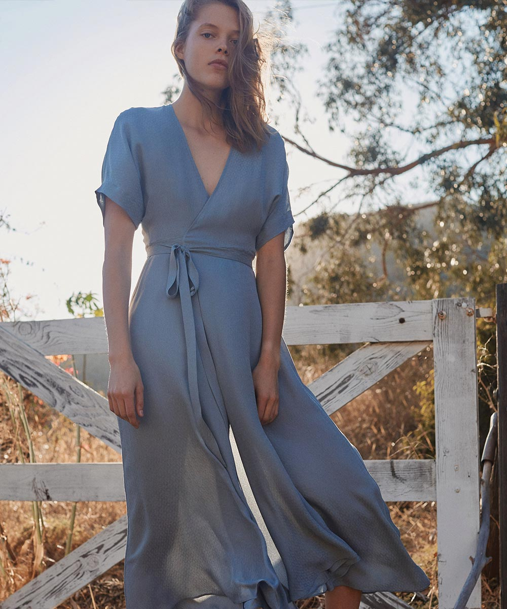The Kaya Dress | Sky