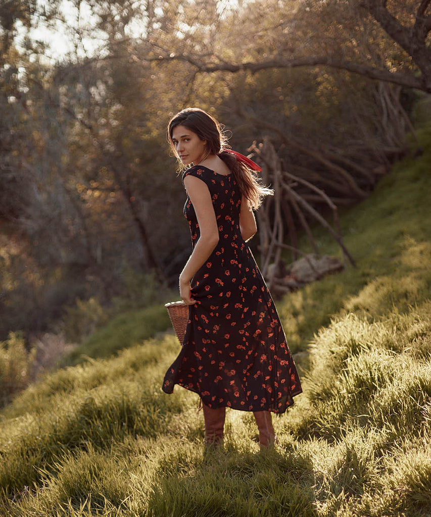 The Layla Dress | Poppy Fields image 4