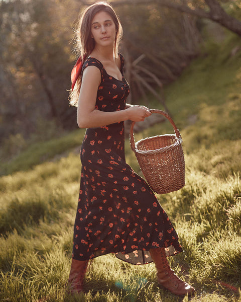The Layla Dress | Poppy Fields
