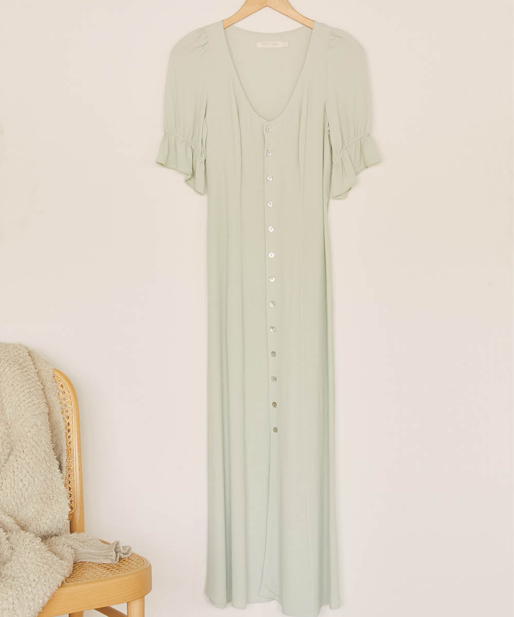 The Lennon Dress | Seafoam