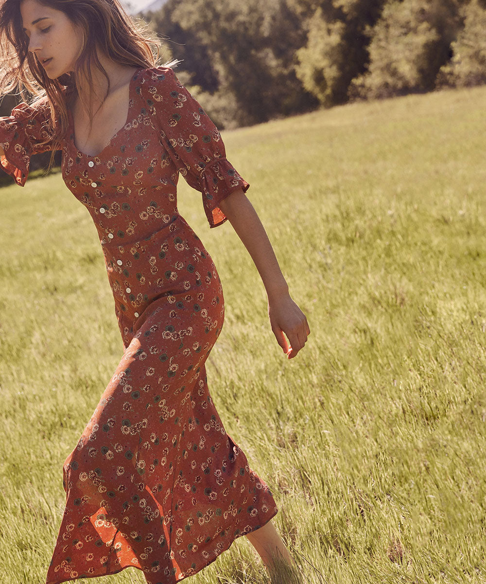 The Lennon Dress | Clay Floral