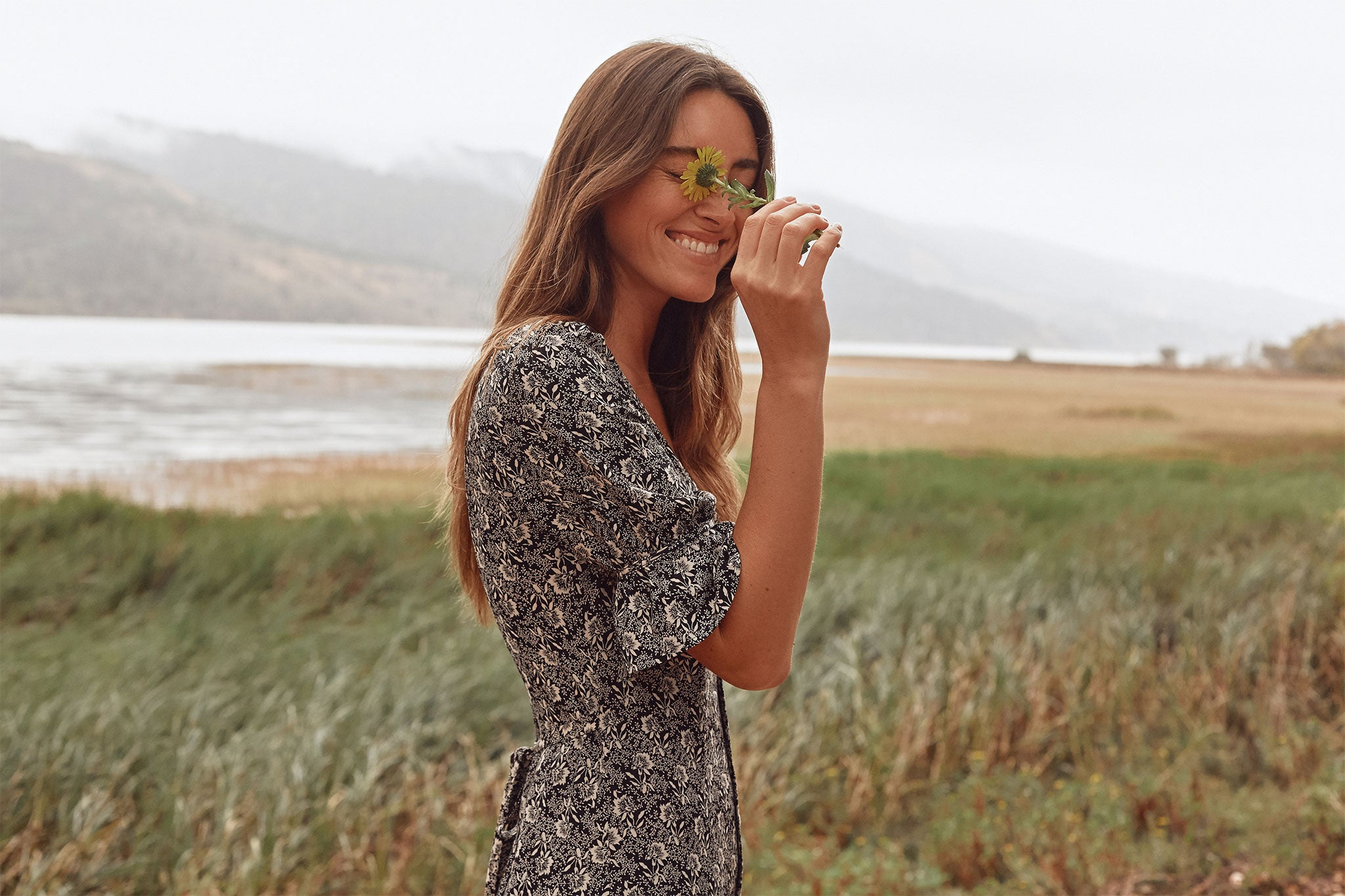 The Lennon Dress | Raven Floral