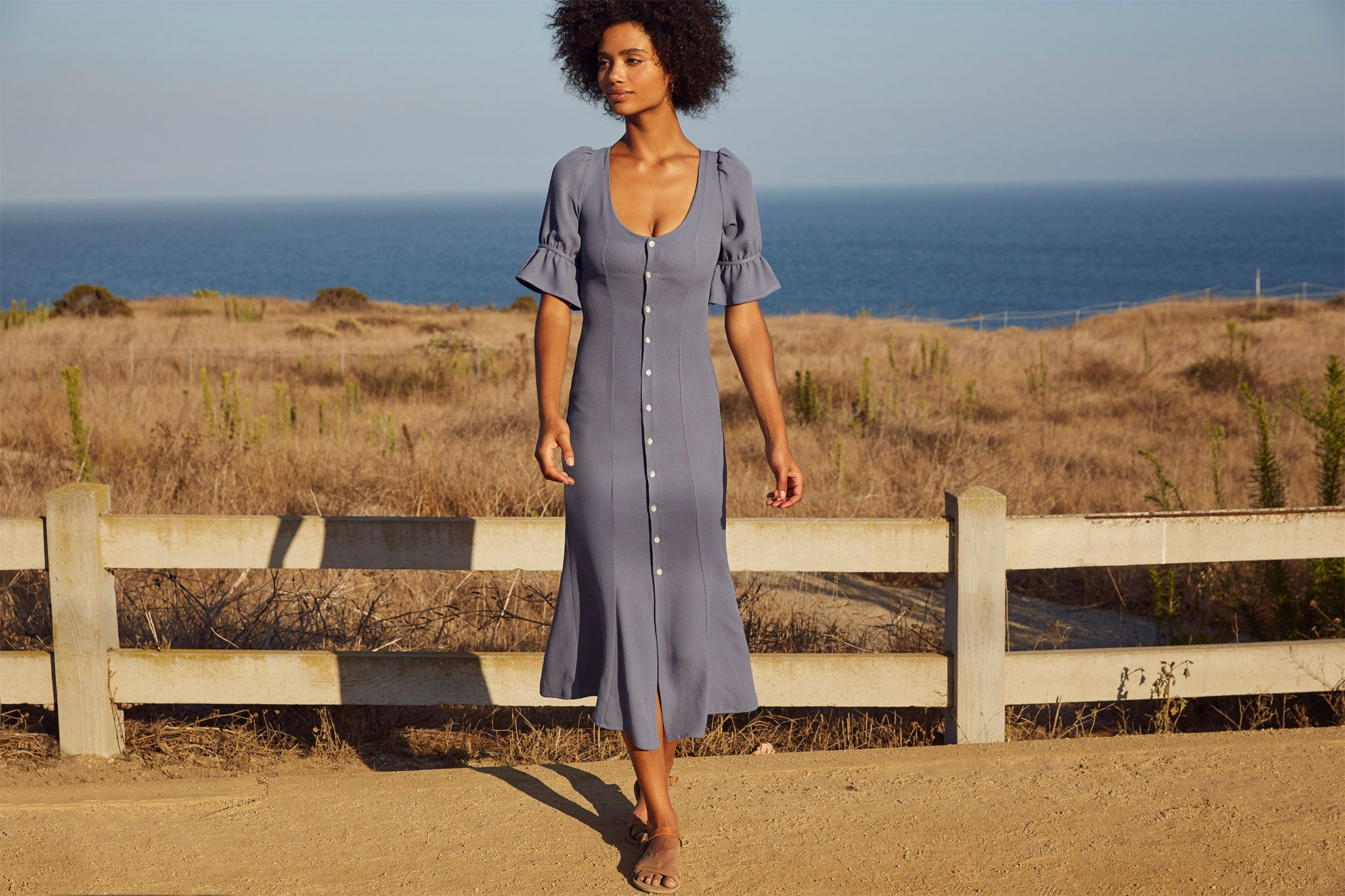 The Lennon Dress | Dusk Birdseye