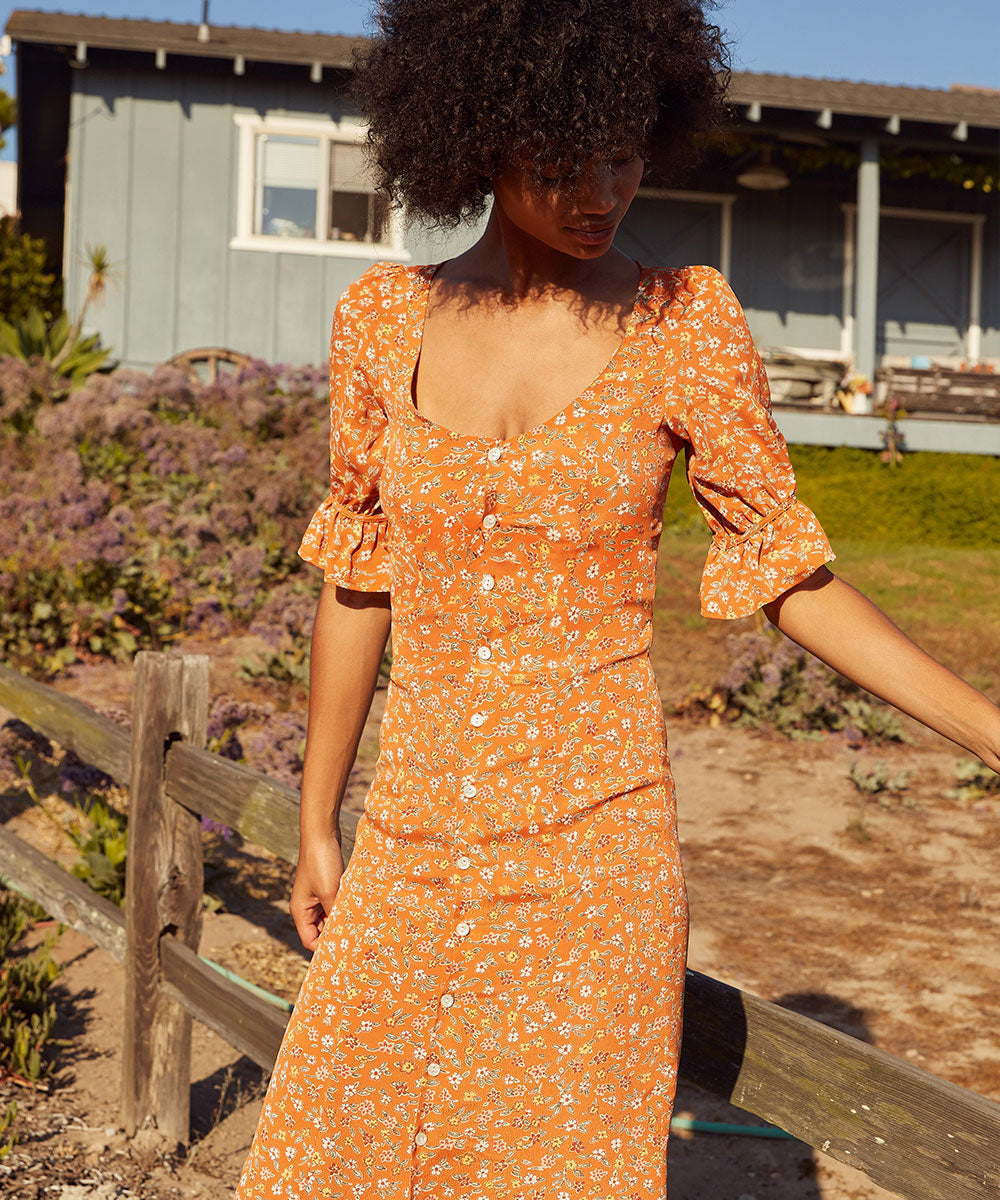 The Lennon Dress | Nectar Calico