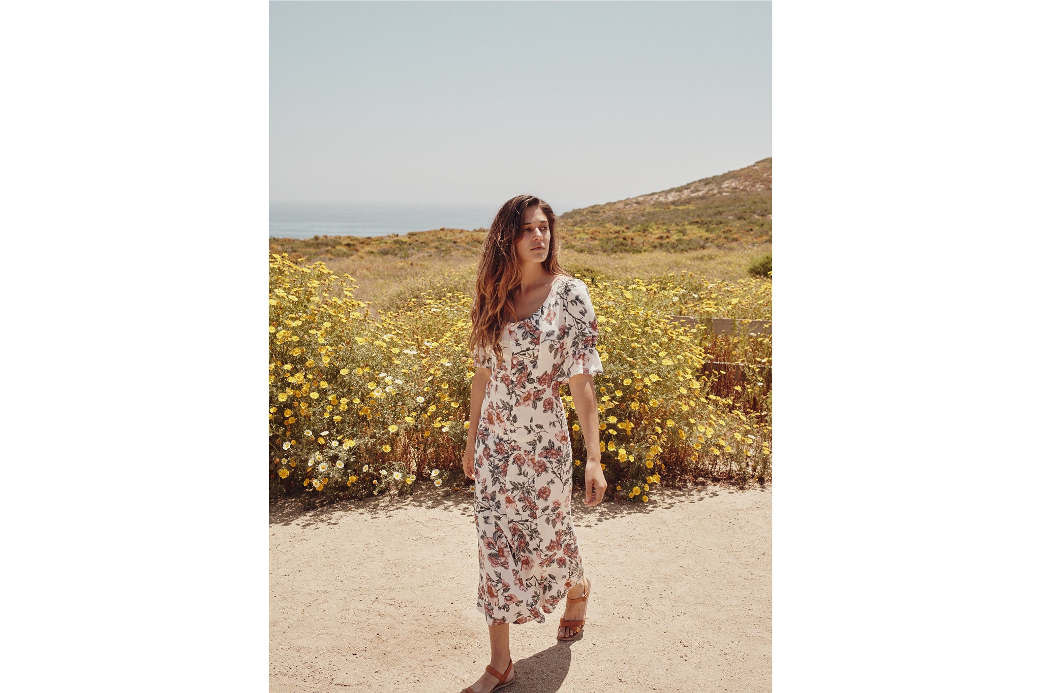 The Lennon Dress | Wild Rose