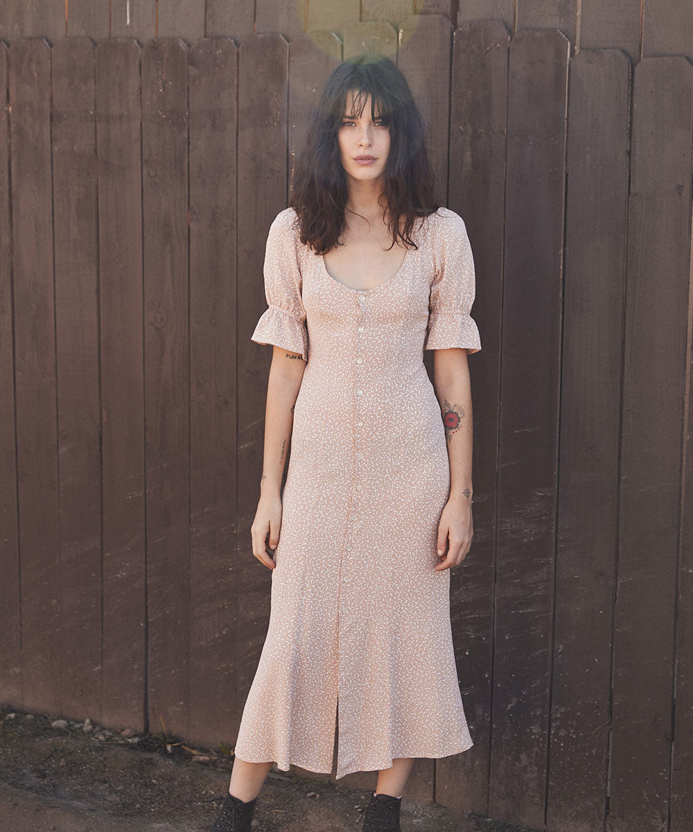 The Lennon Dress | Petal Dot