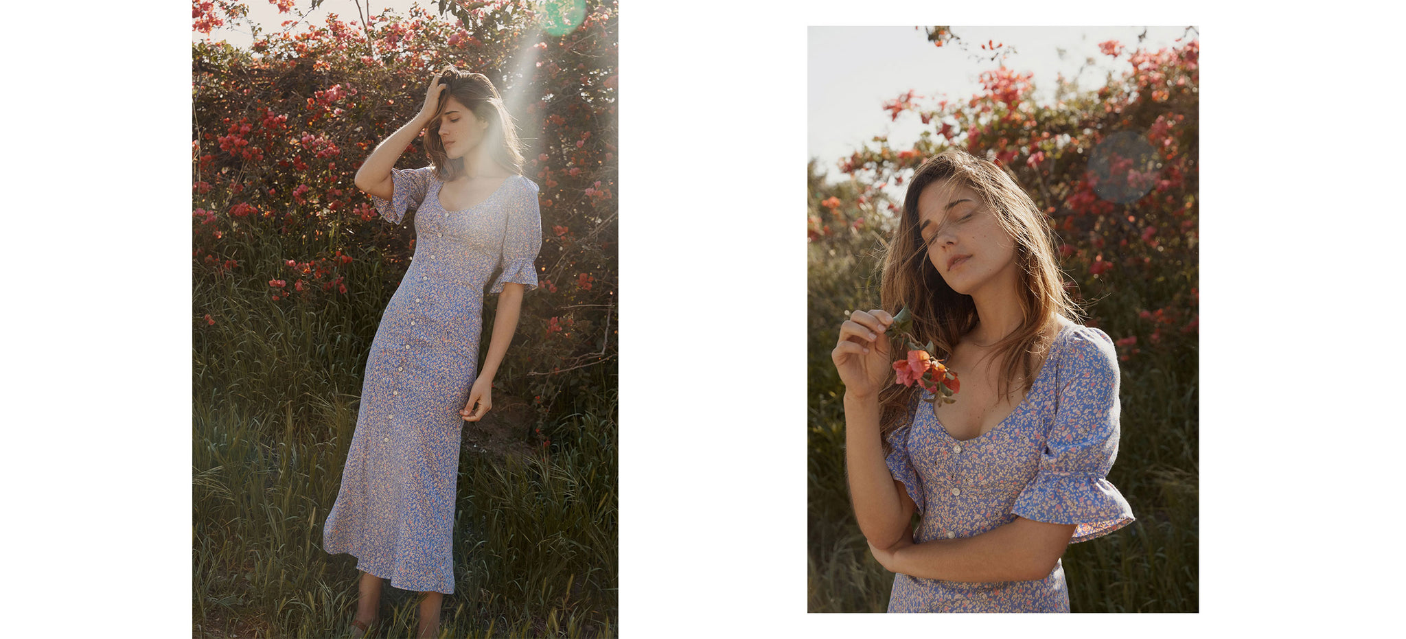 The Lennon Dress | Dusk Calico