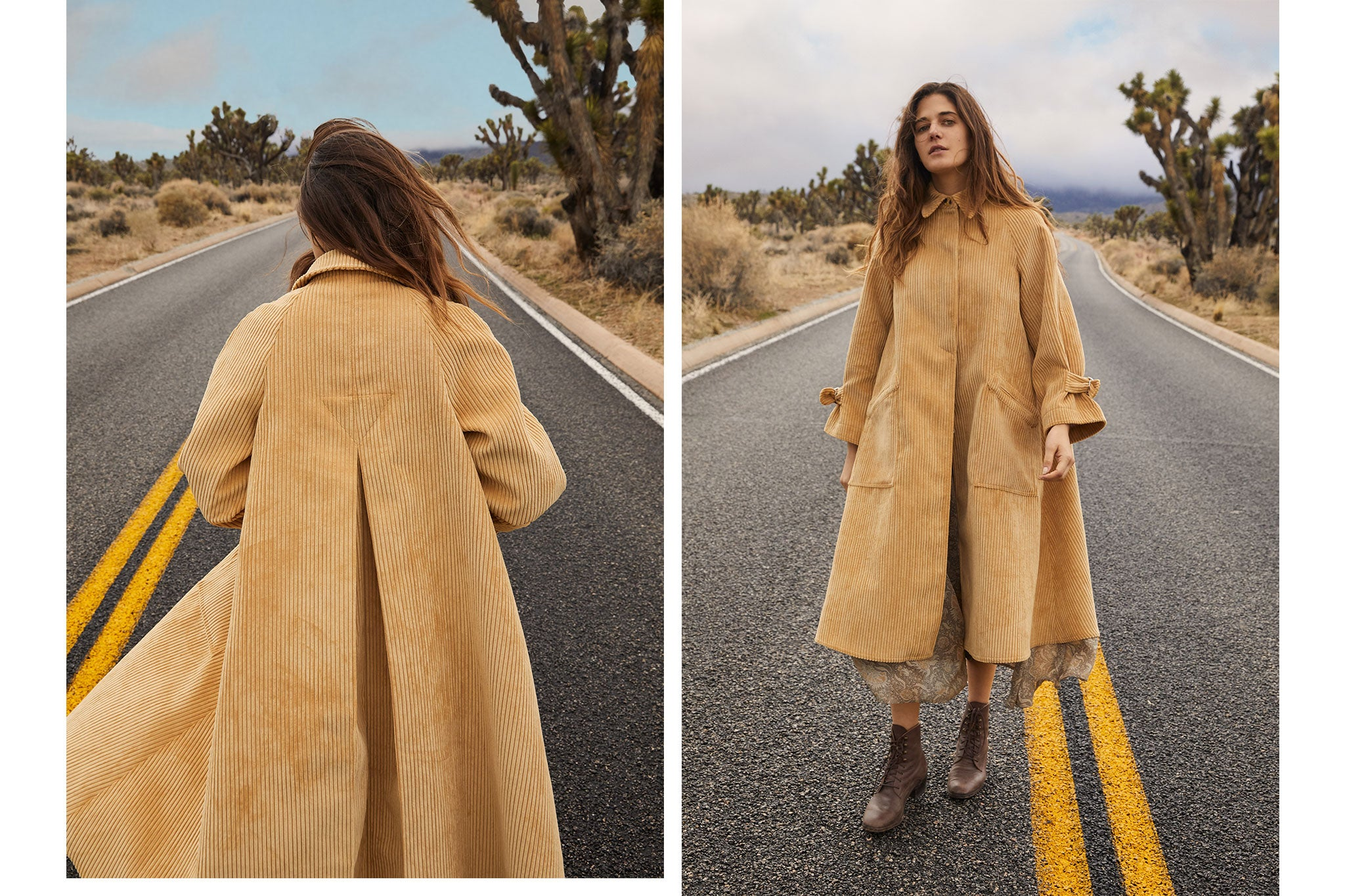 The Leona Trench | Maize Corduroy