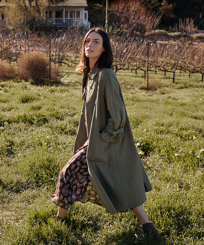 The Leona Trench | Olive
