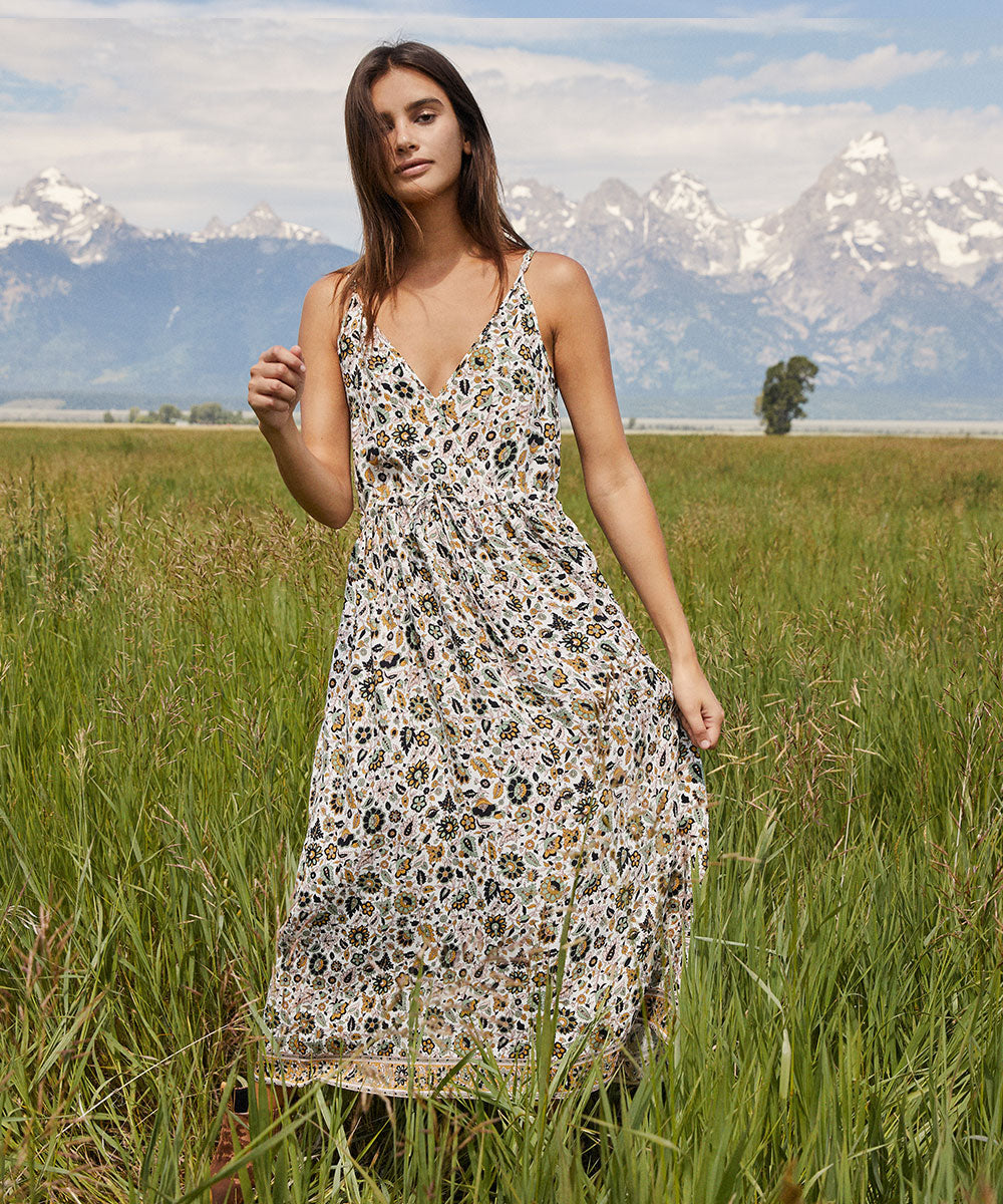 The Lincoln Dress | Jacobean Ivory