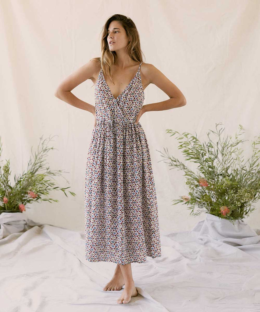 The Lincoln Dress | Bluebell