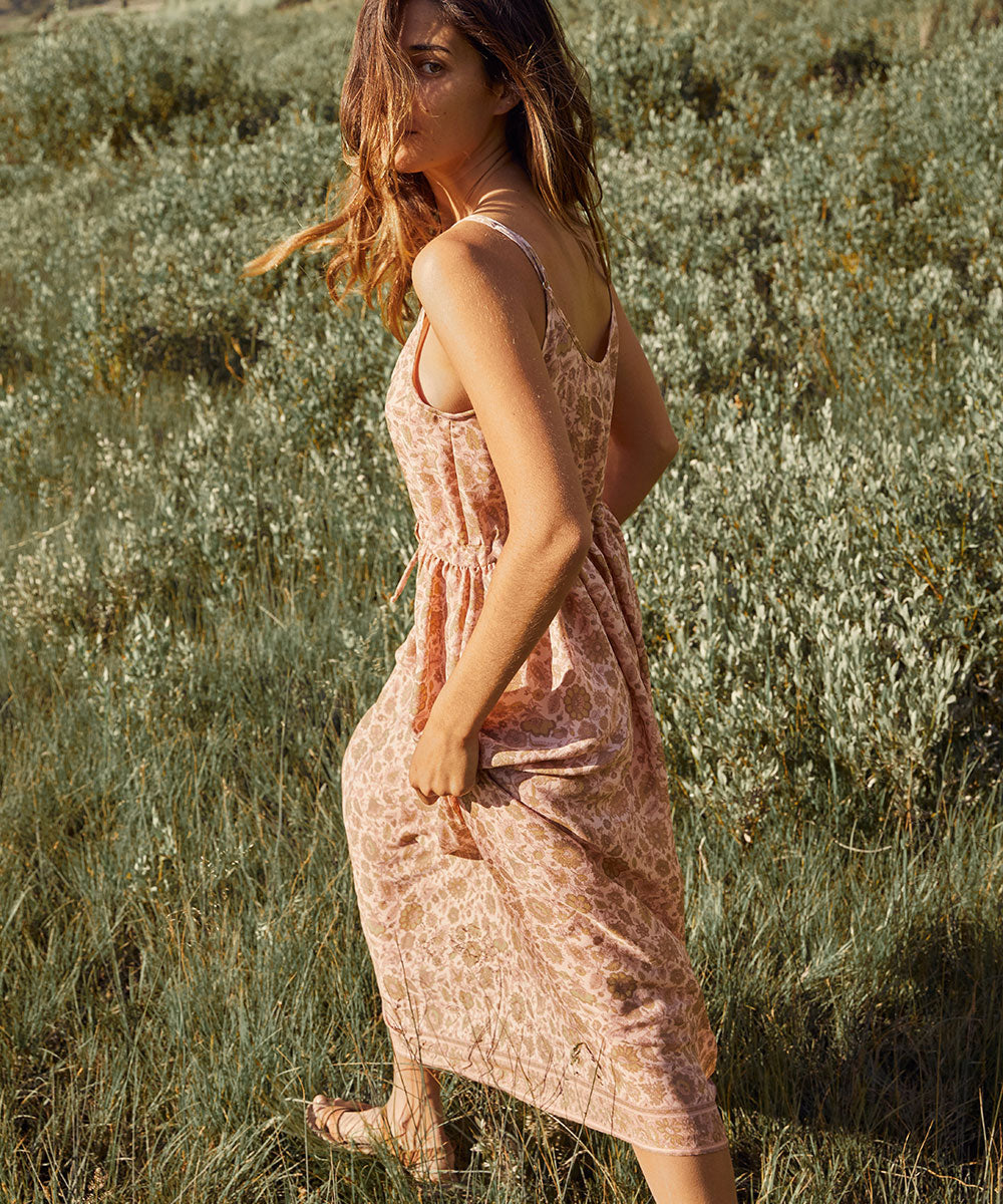 The Lincoln Dress | Jacobean Blush