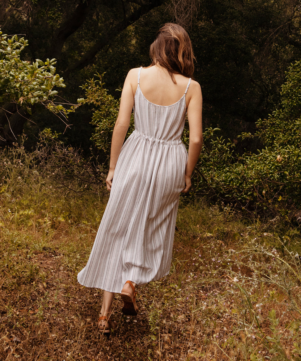 The Lincoln Dress | Rose Shadow