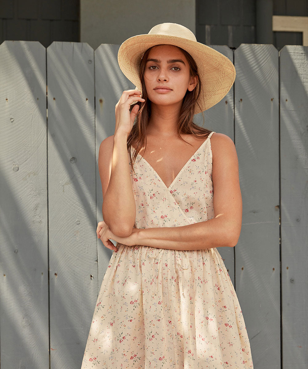 The Lincoln Dress | Cream Rose