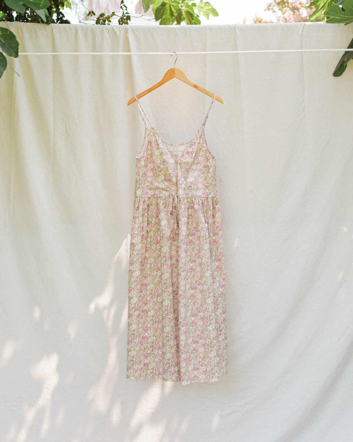 The Lincoln Dress | Tea Rose Garden