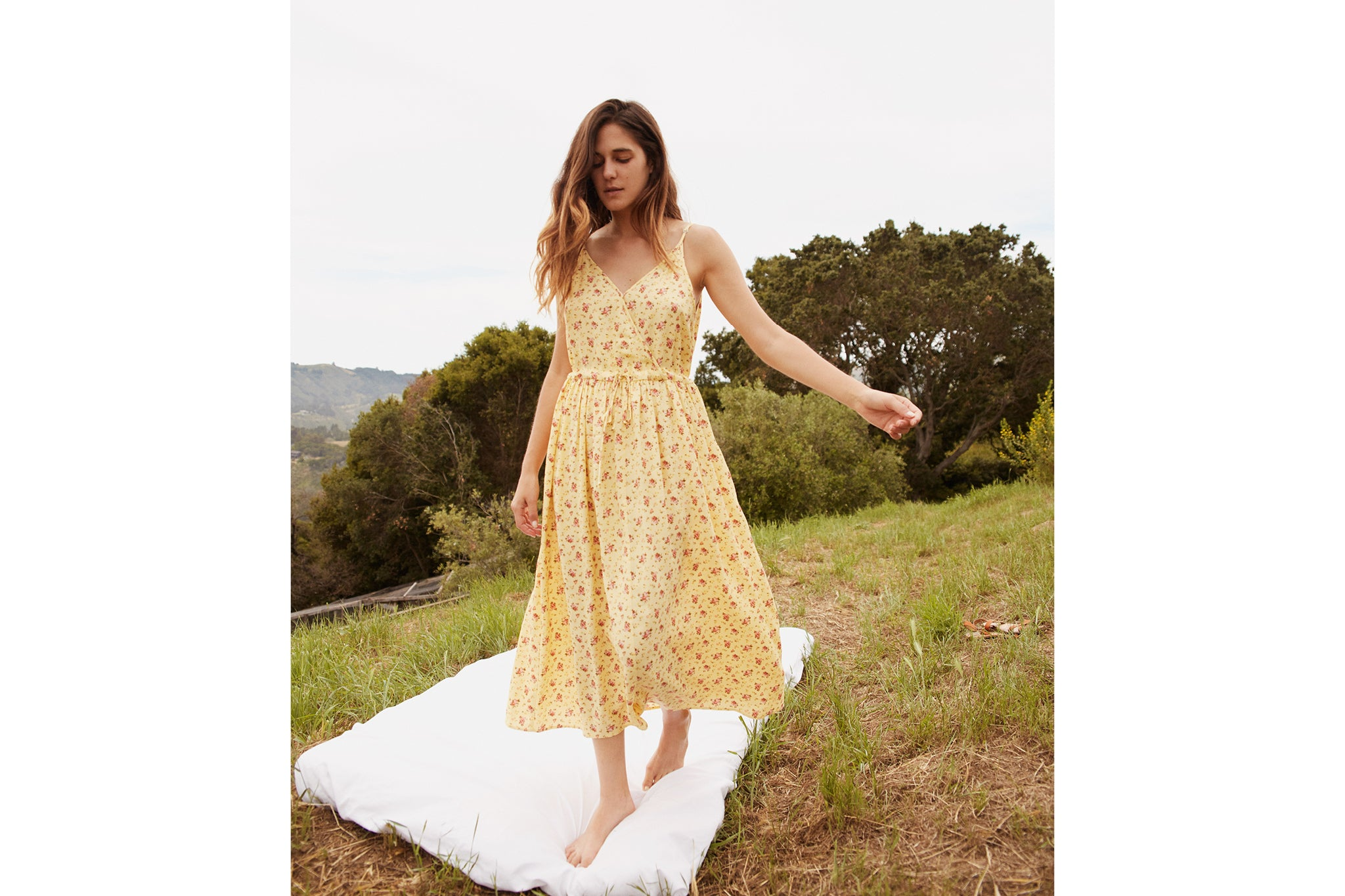 The Lincoln Dress | Butter Rose