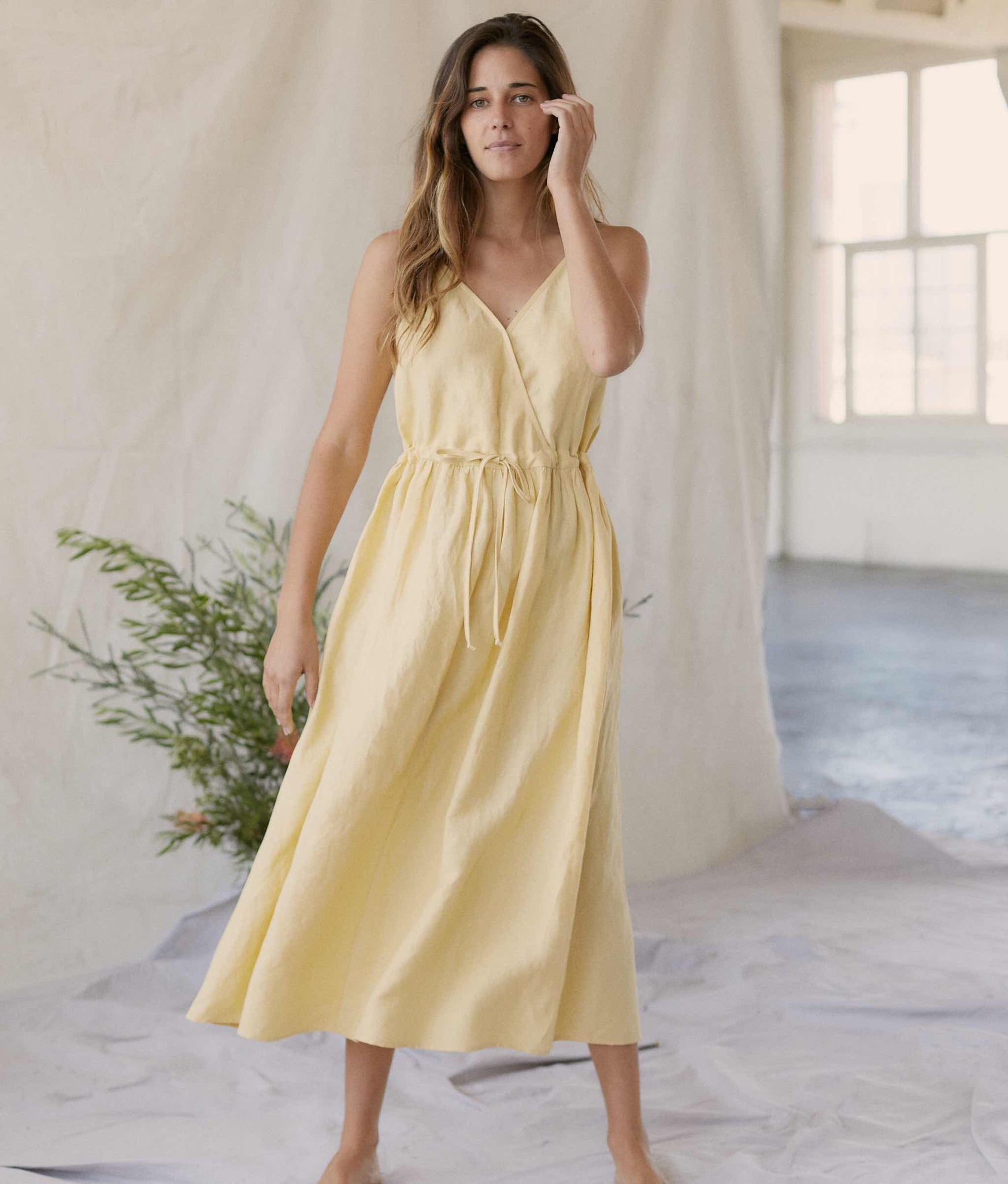 The Lincoln Dress | Buttercup Linen
