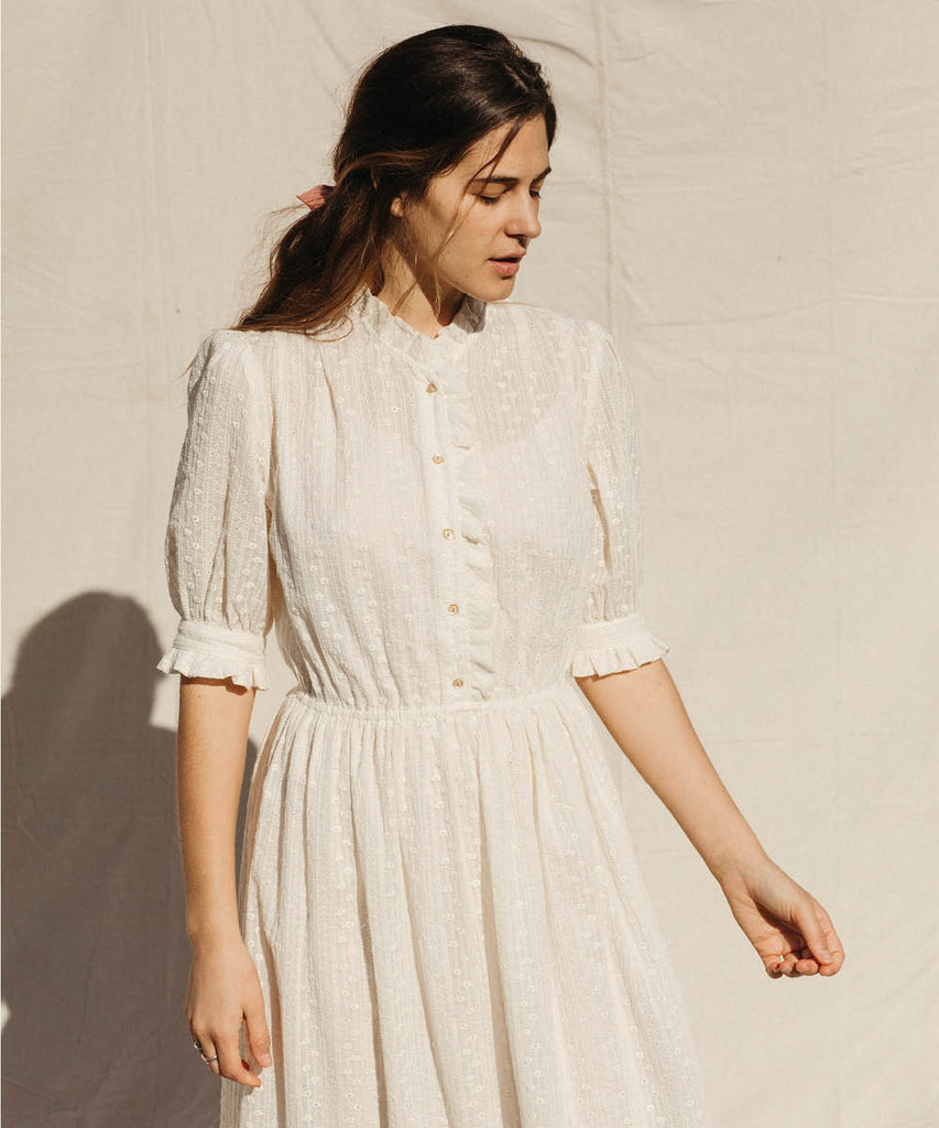 The Linden Dress | Embroidered Blooms (4-of-a-Kind) image 11