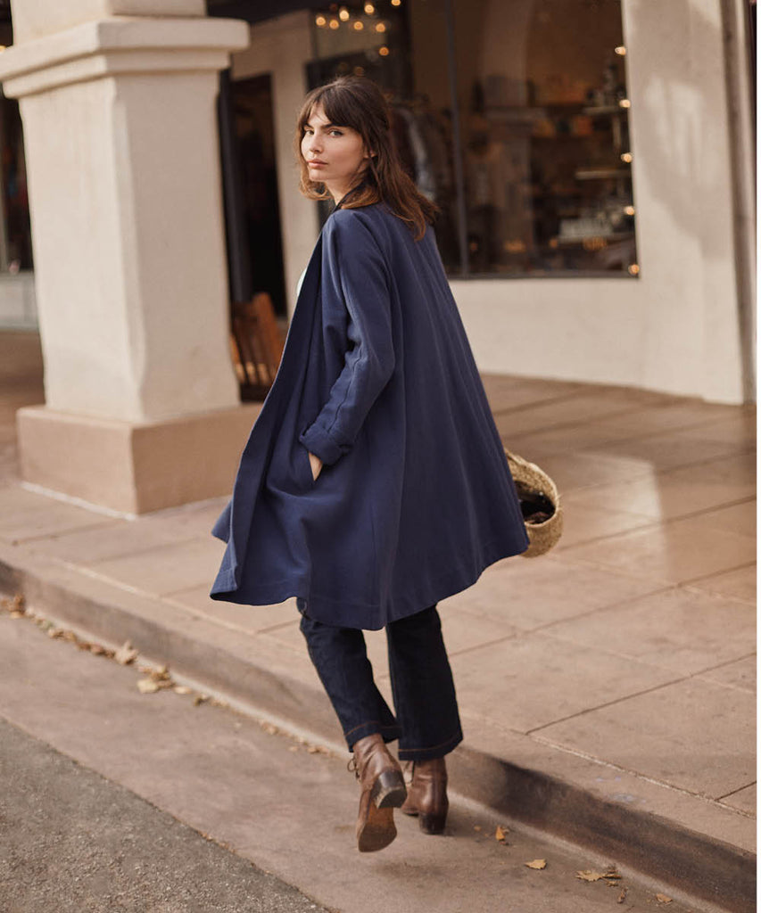 The Linny Jacket | Navy