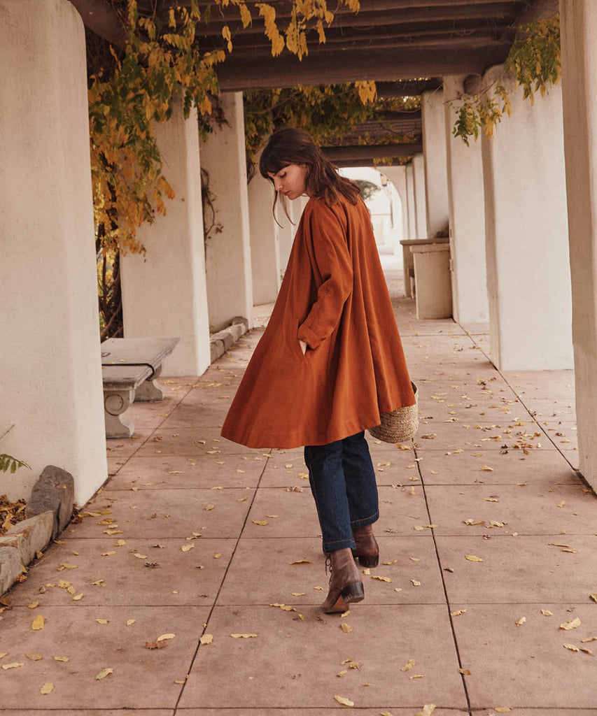 The Linny Jacket | Rust