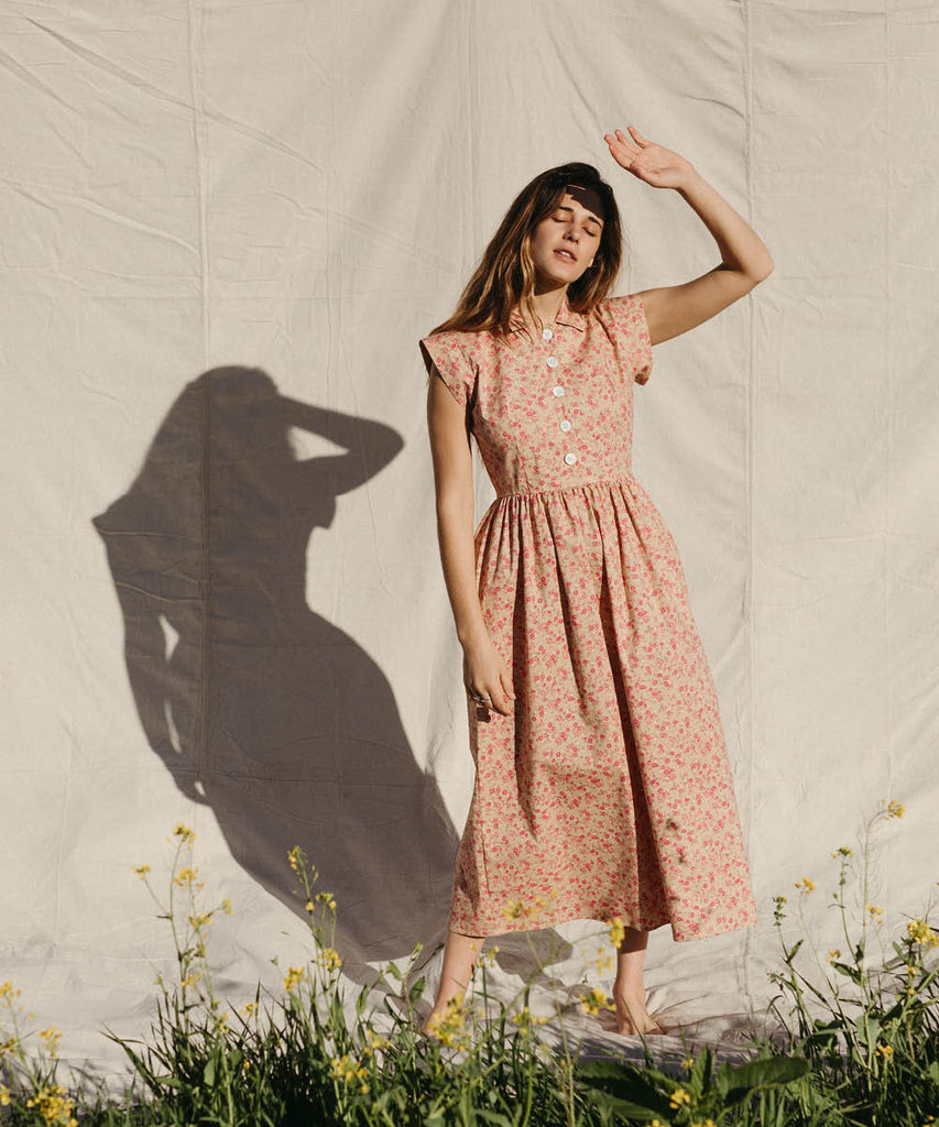 The Piper Dress (Long) | Cherry Field image 2