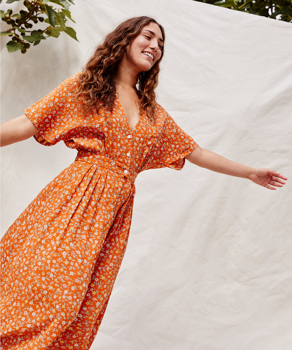 The Lottie Dress Petites | Nectar Calico