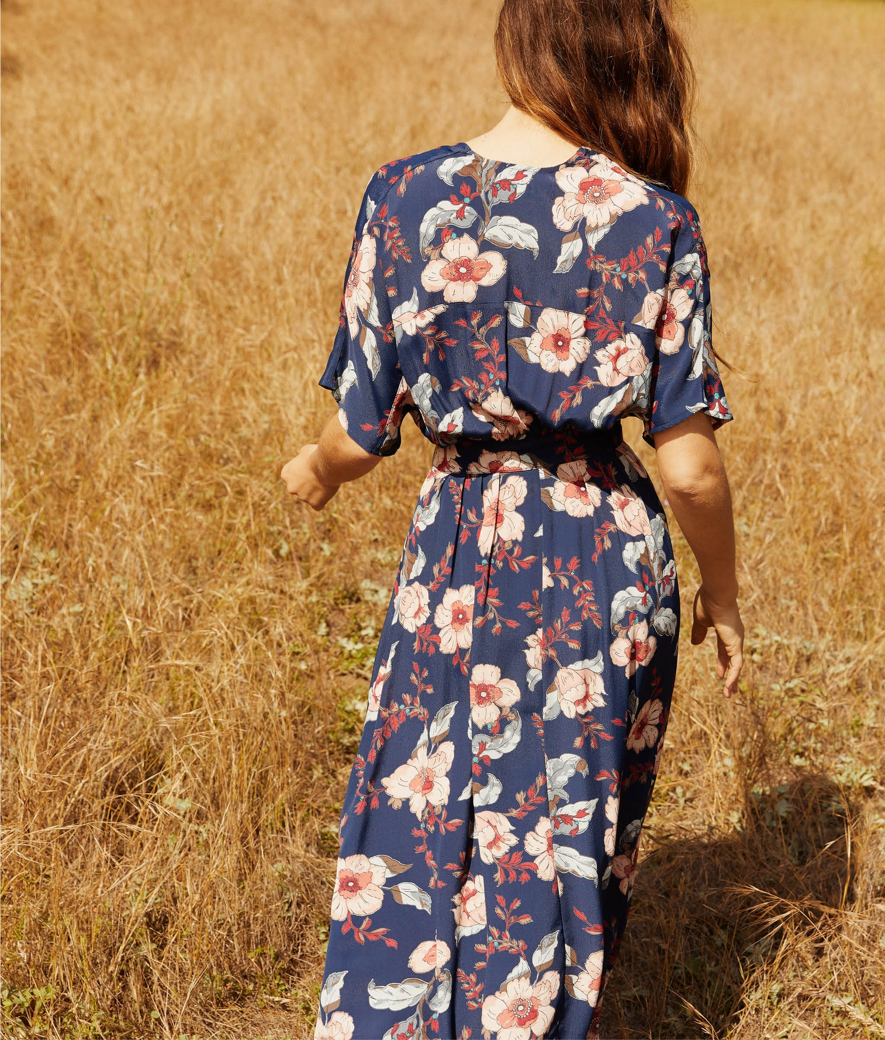 The Lottie Dress | Midnight Anemone