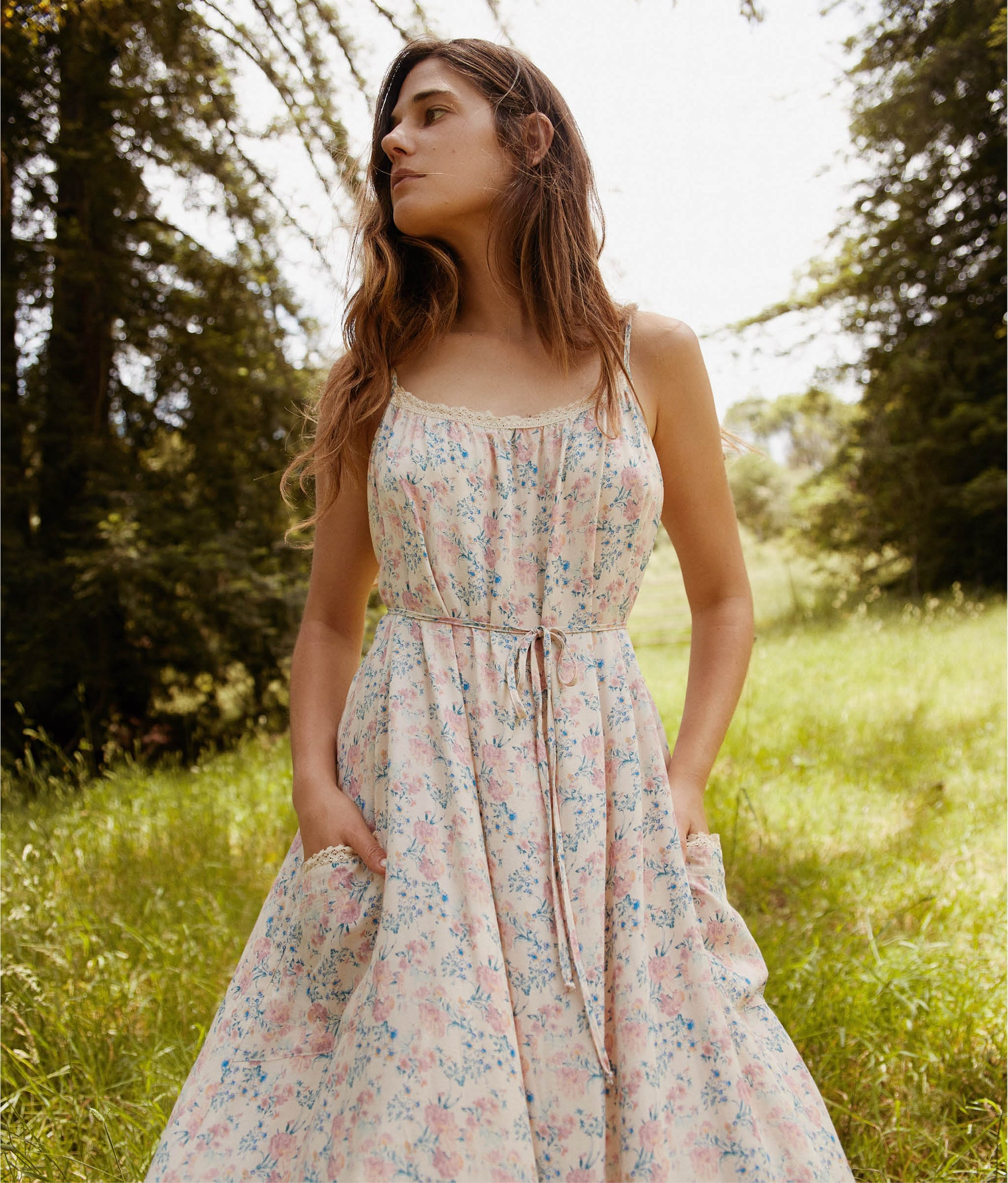 The Lou Dress | Carnation Blossom