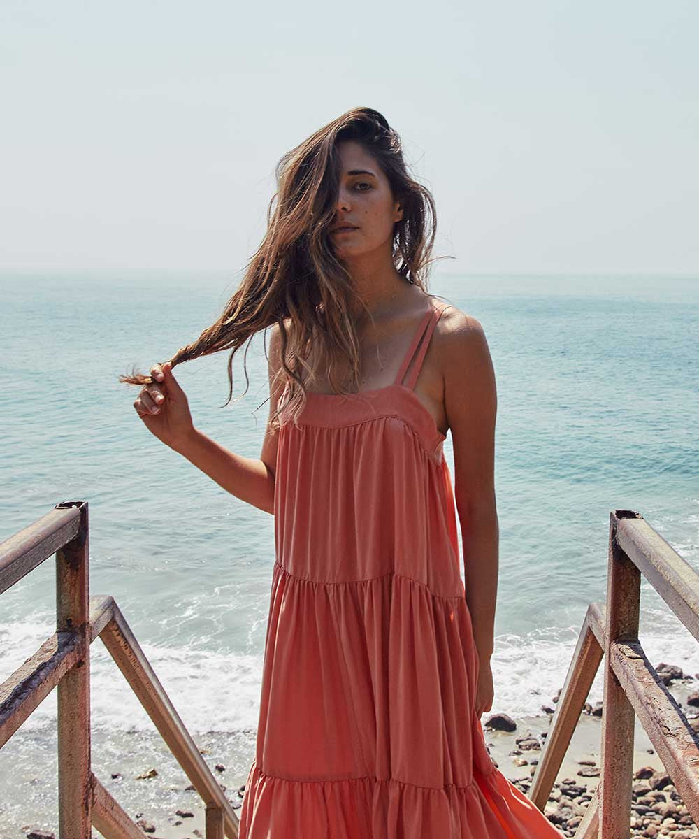 The Lulu Dress | Papaya