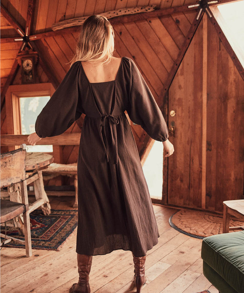 The Lucinda Dress | Earth