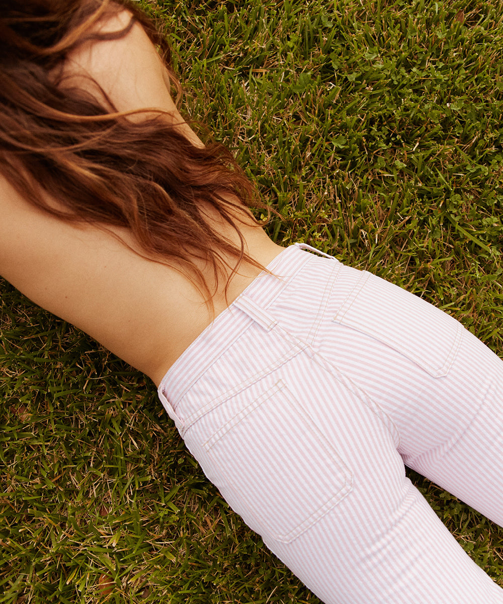 The Lula Jean | Berry Stripe
