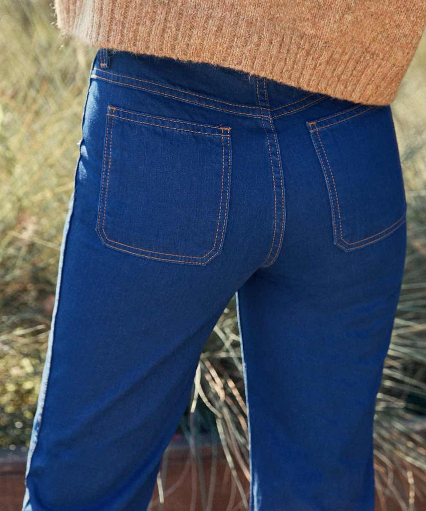 The Lula Jean | Cobalt Blue Denim