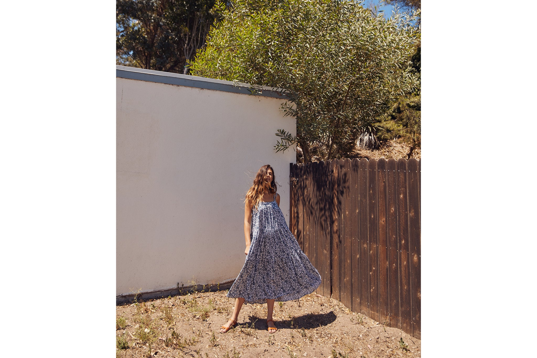 The Lulu Dress | Shibori Vine