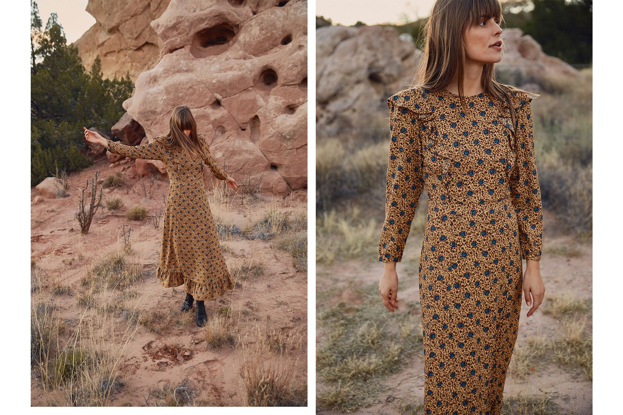 The Mabel Dress | Honey Floral