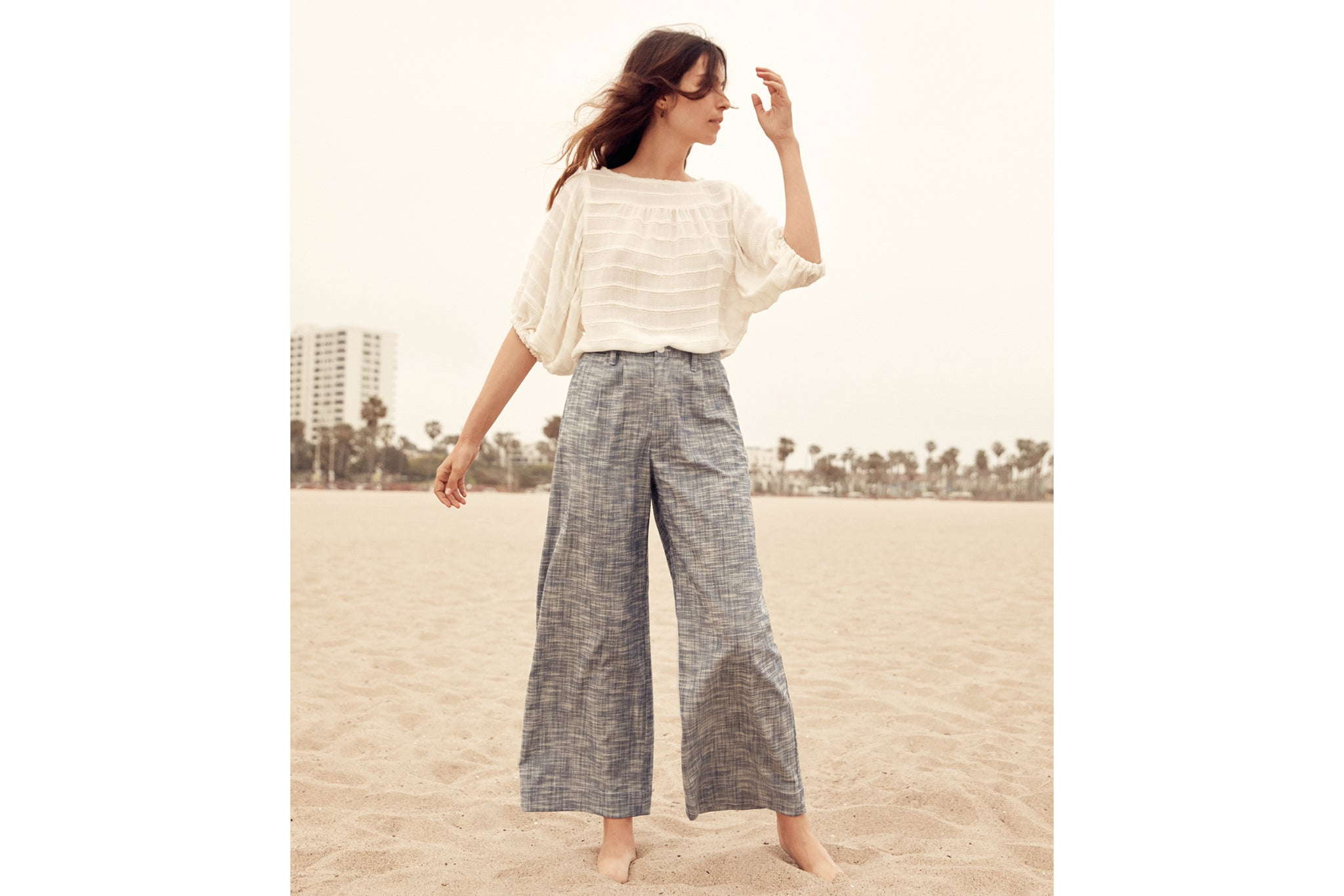 The Mara Trouser | Woven Sea