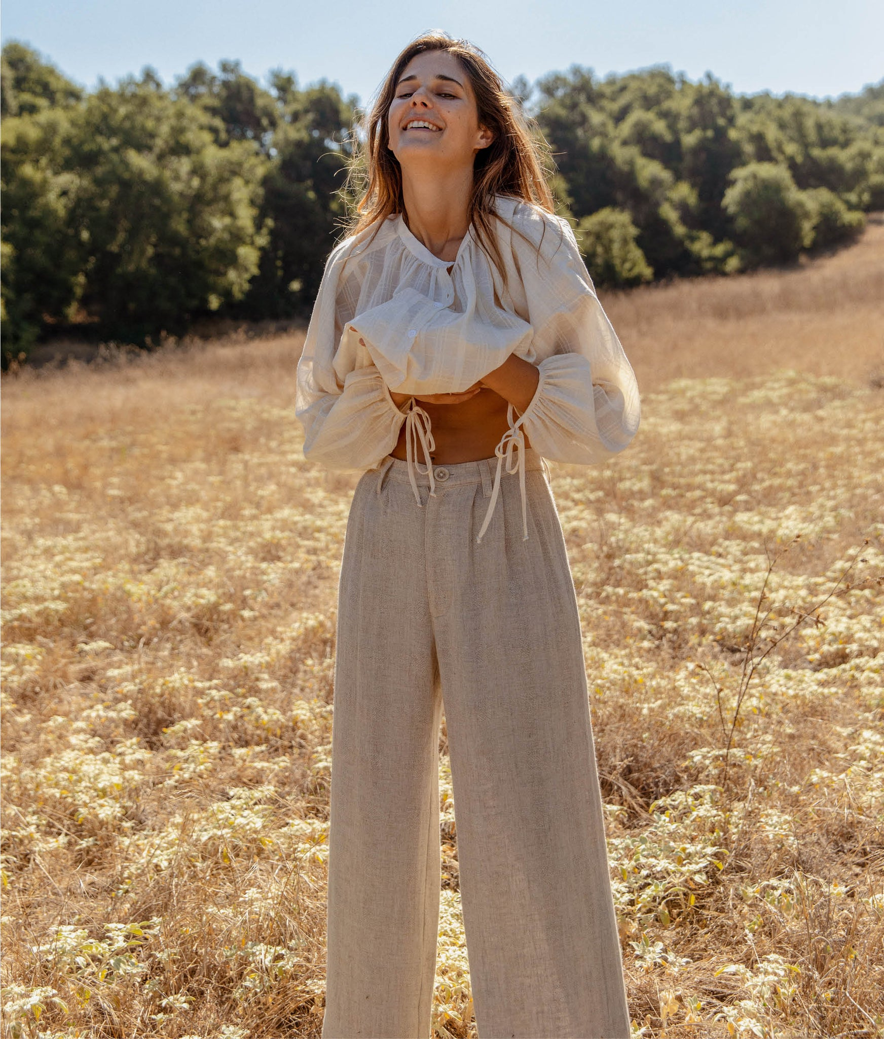 The Mara Trouser | Flax