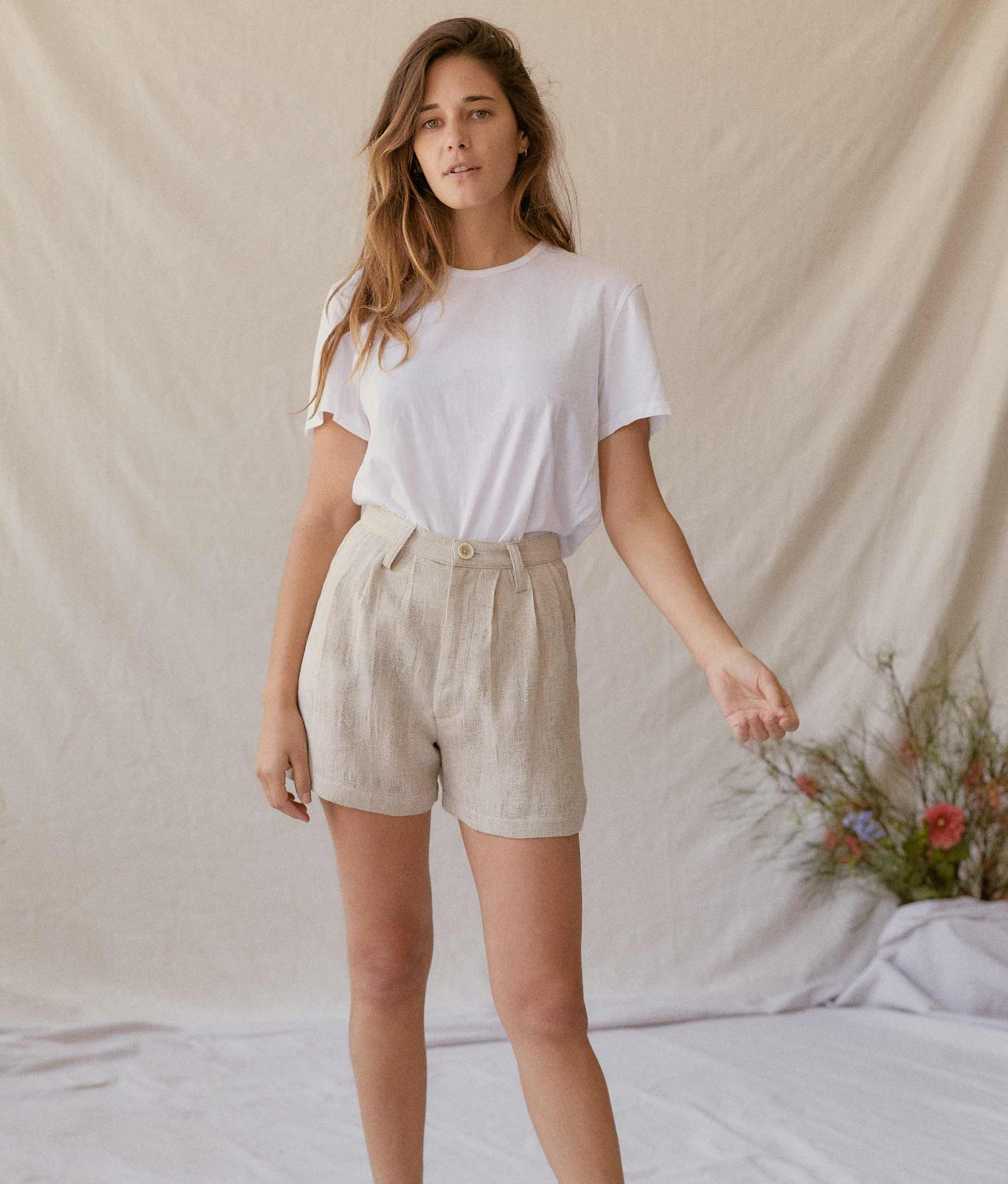 The Mara Short | Flax